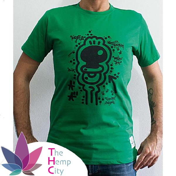 T-Shirt - Legalize It Green