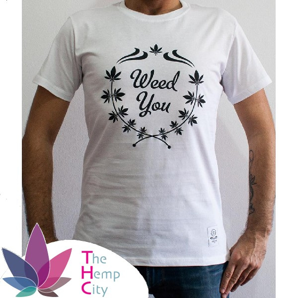 T-Shirt - Weed You White