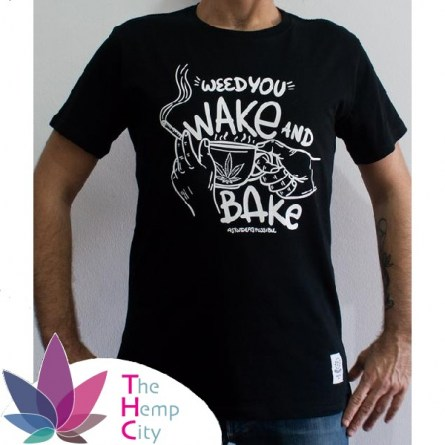 T-Shirt - Wake N' Bake