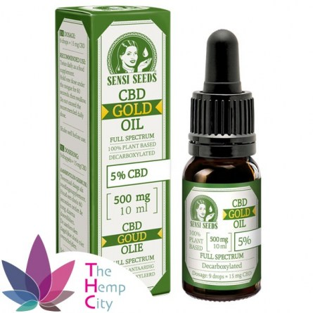 CBD Gold oil 10ml 5%