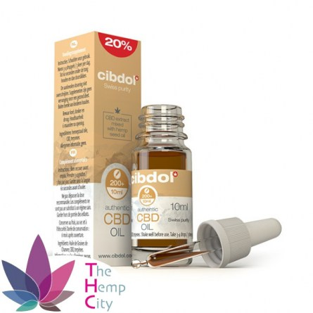 CBD Hemp Seed Oil 20% 30ml